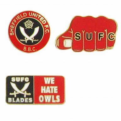 Sheffield Utd Hooligan Pin Badges