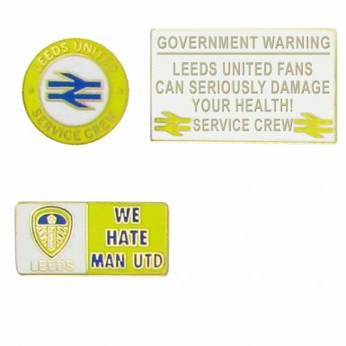 Leeds Service Crew Hooligan Badges