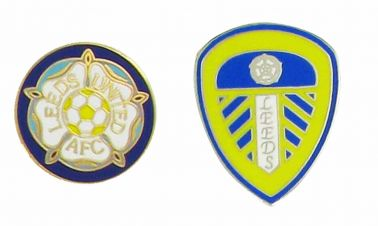 Leeds Utd Crest Pin Badges