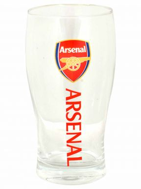 Arsenal FC Crest Pint Glass