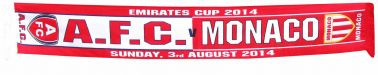 Arsenal FC v AS Monaco Emirates Trophy Souvenir Scarf
