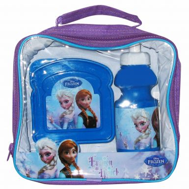 Disney Frozen Film Anna & Elsa School & Picnic Lunchbag Set