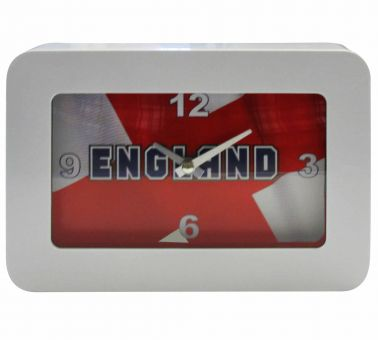 England Flag Souvenir Table Clock
