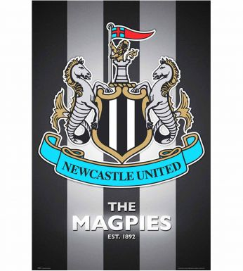 Newcastle United Crest Wall Poster