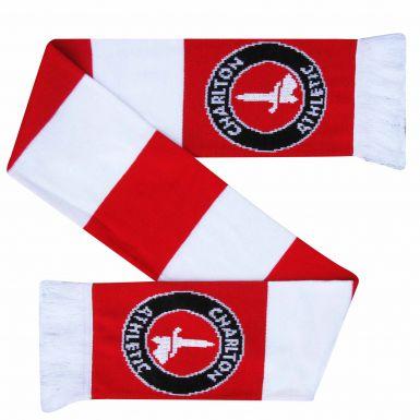 Charlton Athletic Crest Bar Scarf