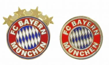 Bayern Munich Crest Pin Badge Set