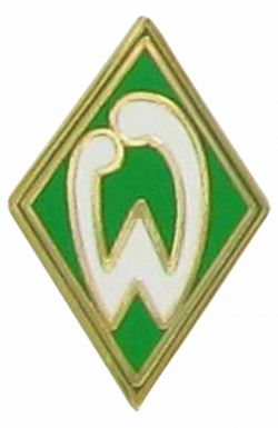 Werder Bremen Football Crest Pin Badge