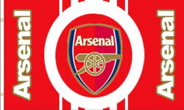 Arsenal FC Football Crest Flag