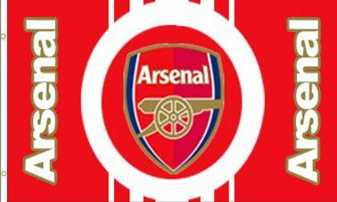 Arsenal FC Football Crest Flag