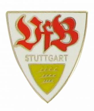 VfB Stuttgart Football Crest Pin Badge