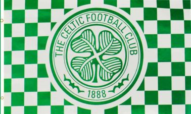 Official Celtic FC Football Crest Flag