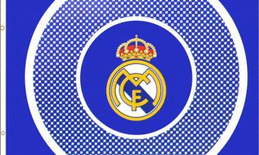 Real Madrid Crest Flag