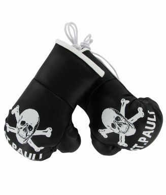 St Pauli Mini Boxing Gloves for the Car or Home