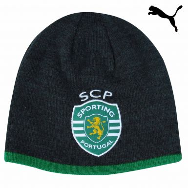 Official Sporting Lisbon Beanie Hat by Puma