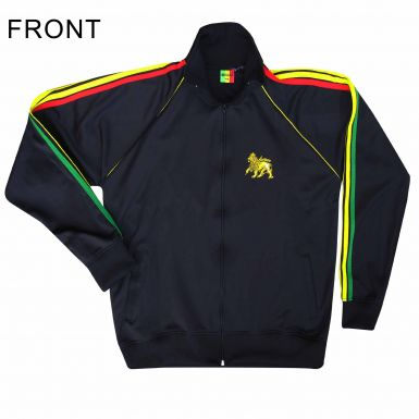 Lion of Judah Rasta Flag & Bob Marley Zip Top