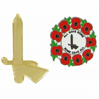 Charlton Athletic Poppy Badge Set