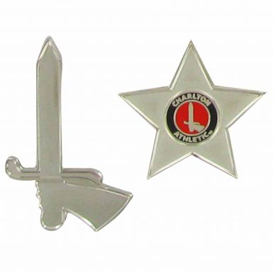 Charlton Athletic Football Badge Set