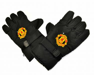 Man Utd Crest Insulated Ski Gloves