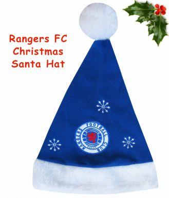 Rangers FC Christmas Santa Hat