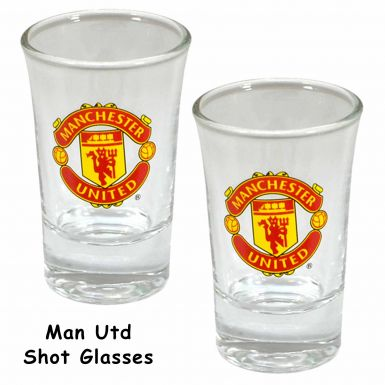 Manchester United Shot Glass Set