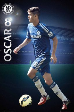 Chelsea FC & OSCAR Poster