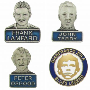 Chelsea Player Legends Badge Set