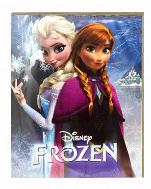 Giant Disney Frozen Film Anna & Elsa Print