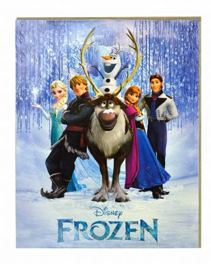 Giant Disney Frozen Film Full Character Print