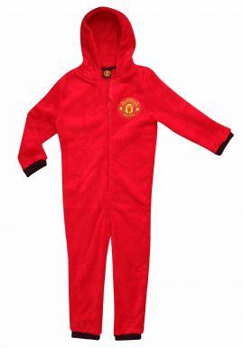 Manchester Utd Kids Fleece Onesie