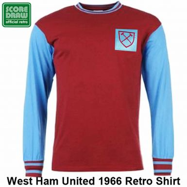 West Ham United 1966 Retro Shirt
