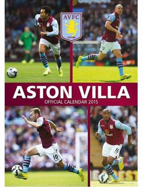Aston Villa 2015 Football Calendar