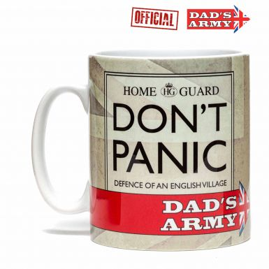 Official Dad's Army Don't Panic Mug