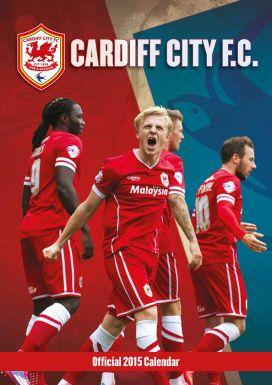 Cardiff City 2015 Football Calendar