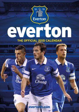 Everton FC 2015 Football Calendar