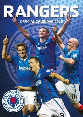 Rangers FC 2015 Football Calendar