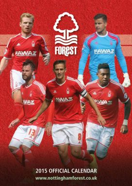 Nottingham Forest 2015 Football Calendar