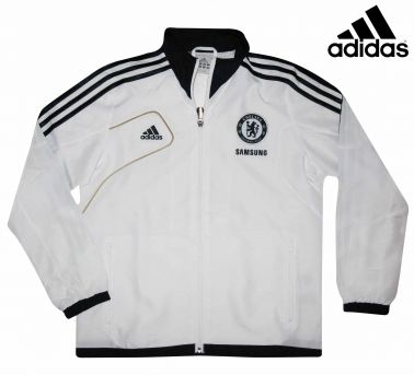 Chelsea FC Kids Rain Jacket by Adidas