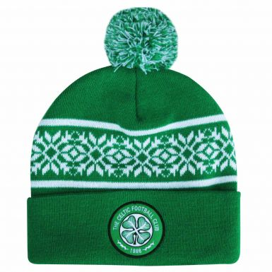 Celtic FC Ski Bobble Hat