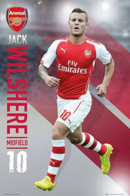 Jack Wilshere & Arsenal FC Poster