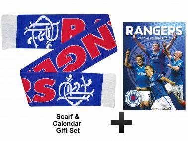 Rangers FC 2015 Calendar & Scarf Gift Set