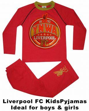 Liverpool FC Crest Kids Pyjamas