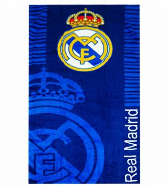 Giant Real Madrid Crest Towel