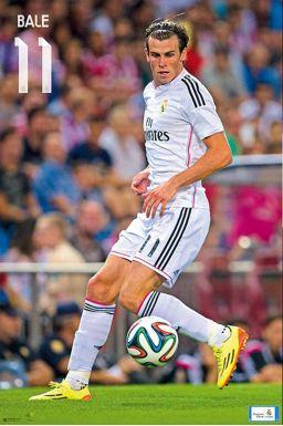 Gareth Bale & Real Madrid Wall Poster