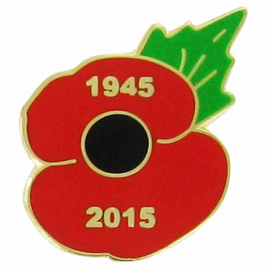 2015 Remembrance Day Poppy Pin Badge