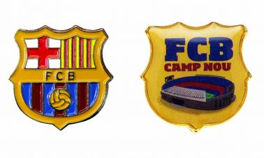 FC Barcelona Crest Pin Badge Set