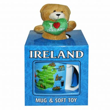 Ireland Mug & Toy Bear Gift Set