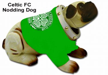 Celtic FC Nodding Dog
