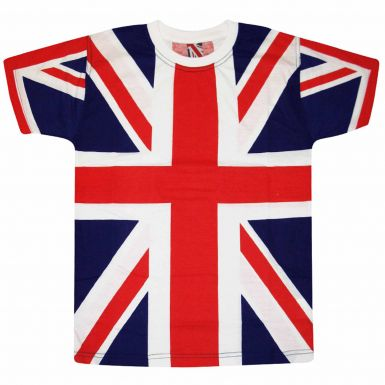 Union Jack Flag All Over Print Unisex T-Shirt