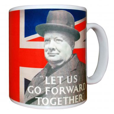 Winston Churchill WW2 Leader Mug