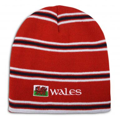 Wales 2015 Rugby World Cup Beanie Hat